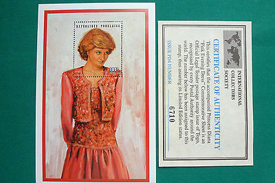 Lot 530 Timbres Stamp Diana Togo Annee 1997
