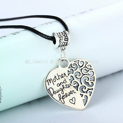 Best Selling Charm Necklace Heart Mother Grandmother Pendant Gift Fashion New