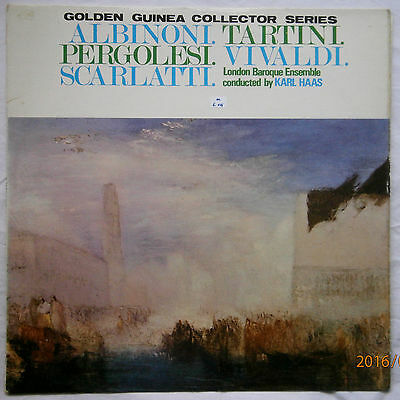 London Baroque Ensemble, Karl Haas Albononi LP