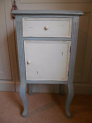 Barker And Stonehouse Pot Cupboard Style Cabinet - Green And Putty Colours