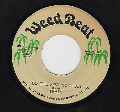 Traps - Do The Best That You Can - Rare 70's Reggae