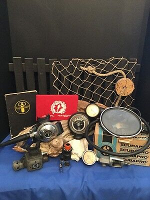 Antique diving equipment