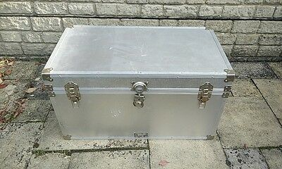 Large aluminium Storage/Travel/Shipping/Trunk Chest Case