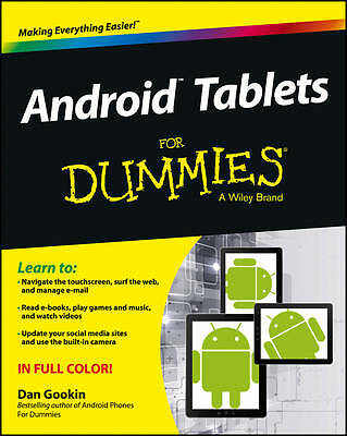 Android Tablets For Dummies by Dan Gookin (Paperback, 2013)