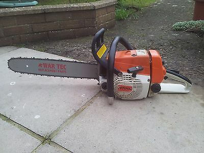 STIHL 024 MS240 PETROL CHAINSAW IN FULL WORKING ORDER New Guide bar an chain