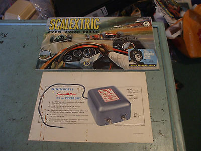 Rare Vintage Scalextric Catalogue Seventh Edition  1966