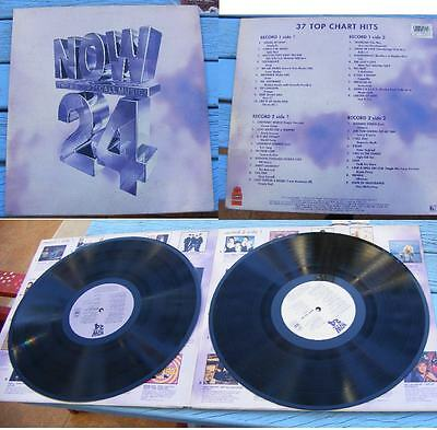 NOW THAT'S WHAT I CALL MUSIC No 24 2 x LP UK-FAITH NO MORE-DEPECHE MODE -GENESIS