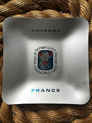 French Winter Olympic Ash Tray 1968