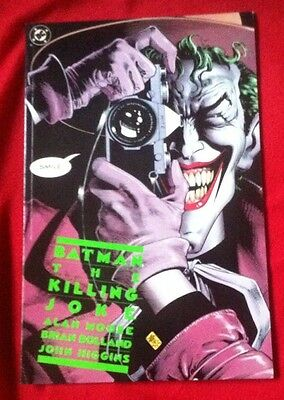 The Killing Joke - Dc First Printing Moore Bolland