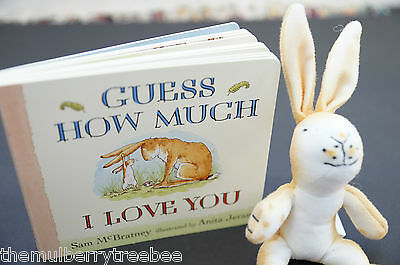GUESS HOW MUCH I LOVE YOU -Children/ Kids/ Baby Book & Toy Gift Set. Preschool!