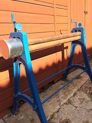 Alex Mathieson & Sons Antique sheet metal rollers