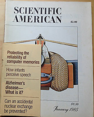 Scientific American. Jan 1985. The Crossbow