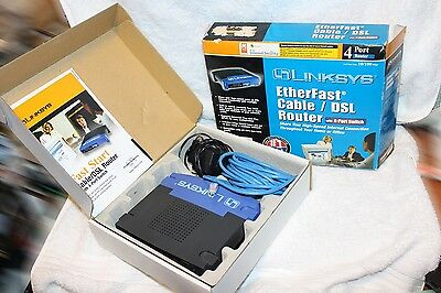 EtherFast® Cable/DSL Router with 4-Port Switch
