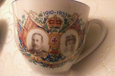 George V & Queen Mary Silver Jubilee cup and saucer souvenir