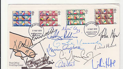 Prime Ministers signed cover. NOW REDUCED.