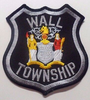 Wall Township New Jersey Police Patch Unused