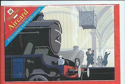 Great Britain stamps. Train Aircard. Still sealed (Y504)