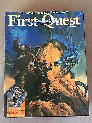 First Quest Dungeons And Dragons Role Playing Board Game.