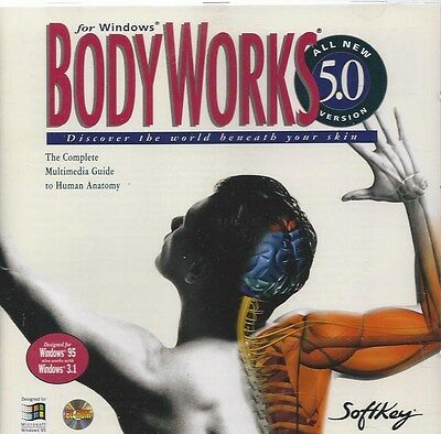 BodyWorks 5.0 for Windows on CD-ROM - Complete Multimedia Guide to Human Anatomy