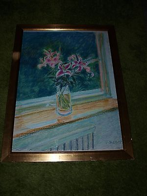 Original Pastel Drawing By Jack Shore Rca ....signed And Framed 34In X 25In