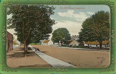 Postcard 0f the Old Town Cookstown, used 1922