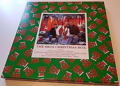 "BROS - The Bros Christmas Box ~ BOX SET 12"" Vinyl Picture Disc + Cassette SEALED"