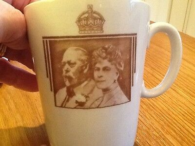 Royal Doulton King George V Queen Mary   1910 - 1935. Commemorative Mug.