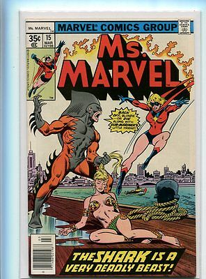 Ms. Marvel #15 Hi Grade 9.2 Awesome Cover Gem Untouched