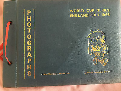 England World Cup 1966 Autographed Photo Book-VERY RARE