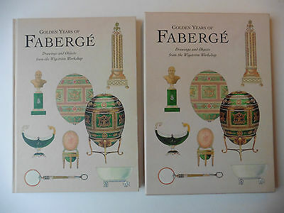Golden Years of Fabergé Drawings and Objects from the Wigström Workshop - Book