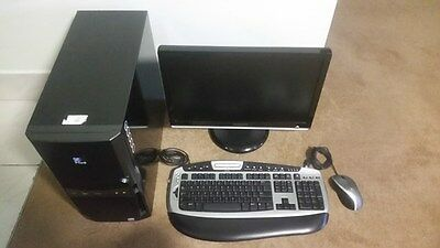 Desktop PC Intel Core 2 Duo 2.33GHz Samsung Monitor