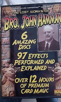 The Lost Works Of Brother John Hamman 6 DVD Set