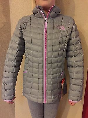 The North Face Girls' Full Zip Thermoball Jacket Small