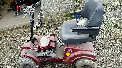 Mobility scooter with petrol engine for spares or repair