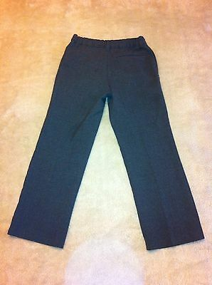 Boys Grey M & S School Trousers.  Age 6-7.