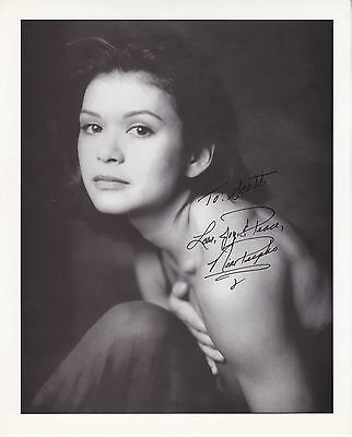 NIA PEEPLES hand signed autographed 8x10 photo photograph |
