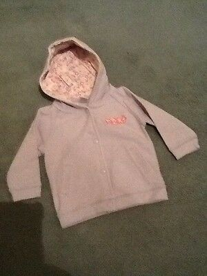 Baby Girl Next Lilac Hoodie - Age 6-9 Months.