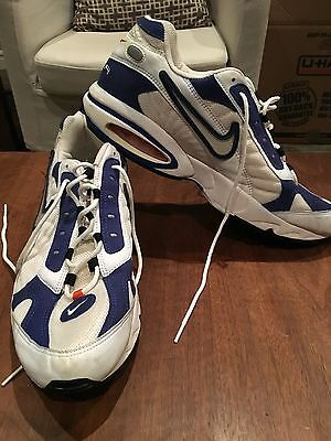 e2422fbb00f14 Rare Vintage Nike Air Max Triax Series Tennis Shoes Authntic Running  Walking 15