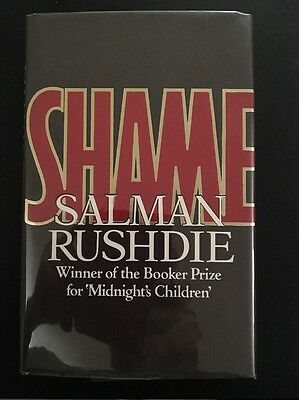 """""""Shame"""" By Salman Rushdie (first Edition, Signed Copy)"""