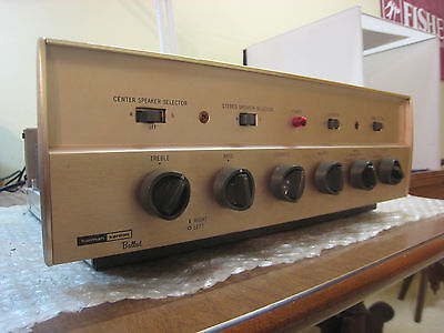 Harman Kardon refurbed A230 stereo tube integrated amplifier, 15 WPC, EL84, nice