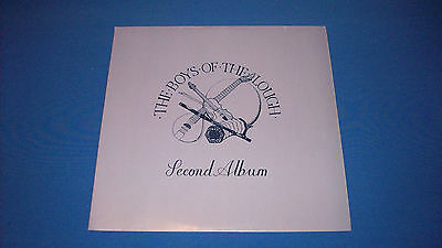 "THE BOYS OF THE LOUGH Second Album UK 1973 TRAILER 12"" VINYL 1ST PRESS LP EX/EX!"
