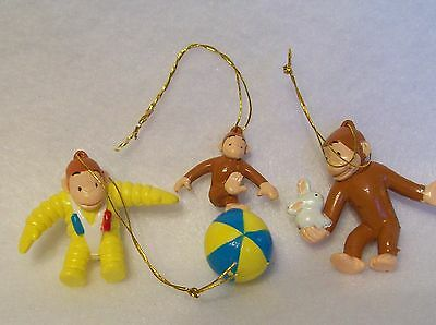 Curious George Christmas Tree Mini Ornaments, Collectiable Decorations