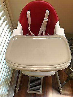 Keter Multi Dine High Chair - Red