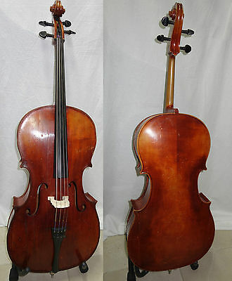 1/2 Old Fine Cello John Juzek - Amazing Tone Made in Germany