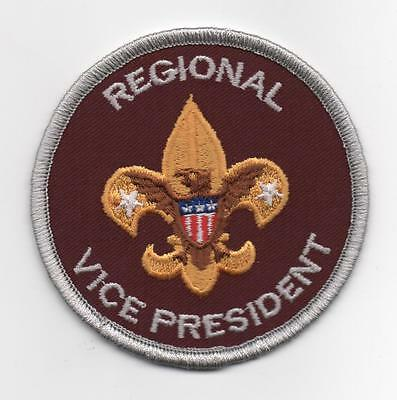 Regional Vice President Position Patch, Since 1910 Backing, Mint!