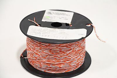 General Cable 7023773 1000' 2/C 24 AWG Orange/White Cross Wire + Free Shipping!!