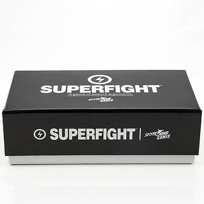 Superfight 500 Card Core Deck Party Fun Cards Game Board Family Poker Game
