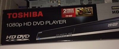 New Toshiba HD-A30 HD-DVD Player With a Lot of 124 HD DVD Movies