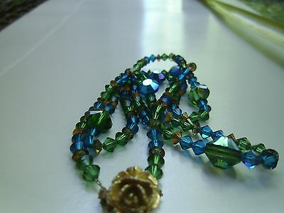 Antique Glass Beaded Necklace