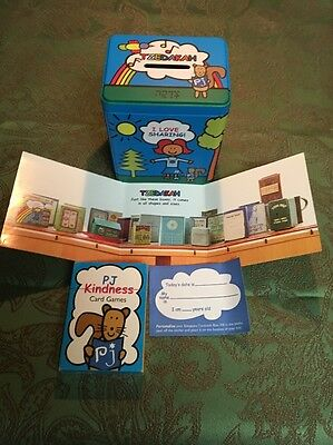 New P.J. Library Tzedakah Jewish Charity Coin Collection Box